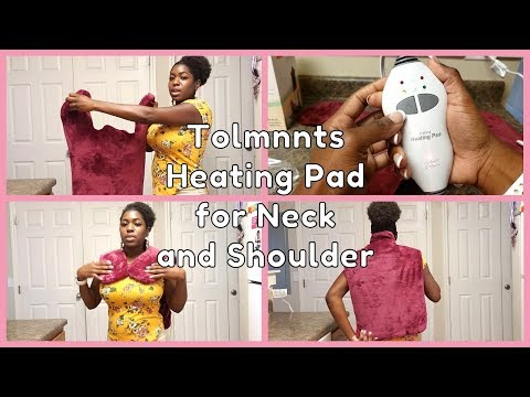 Tolmnnts Heating Pad for Neck and Shoulder (Review and Demo)
