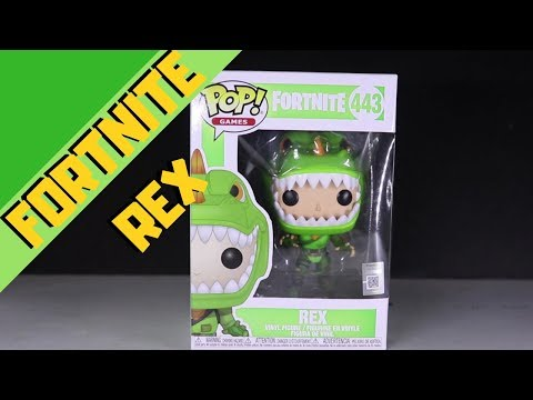 Fortnite Funko Pop Rex Review/Fortnite Funko Pop Rex Unboxing | Pasty