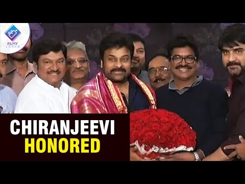 khaidino150 chiranjeevi honored by MAA  | ...