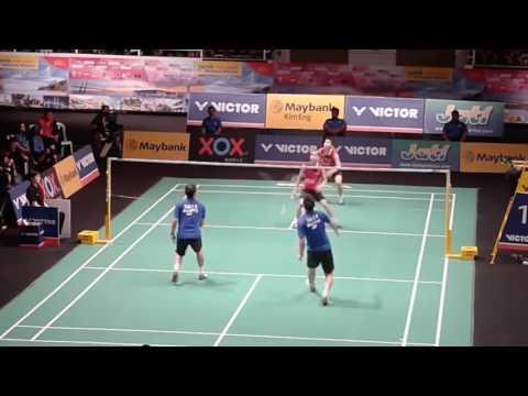 Born to Hit a Badminton TRICK SHOT   Koo Kien Keat 2016