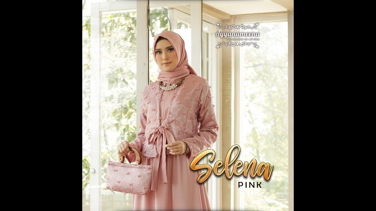 Baju Pesta Muslimah Terbaru 2018 2019 Glamour Edisi Selena Youtube