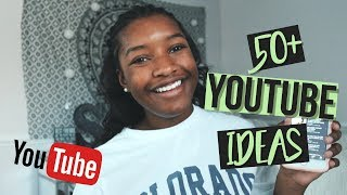 50+ popular youtube video ideas for any youtuber