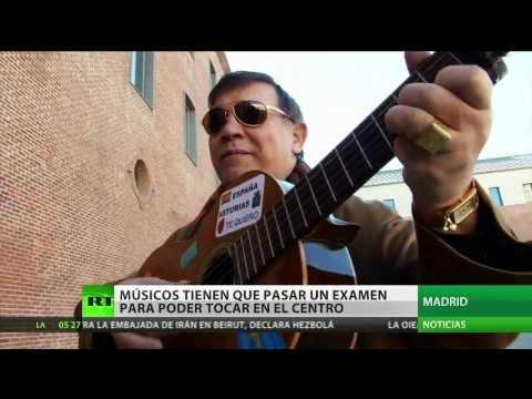 Los músicos callejeros de Madrid tienen que pasar un examen para poder tocar en el centro