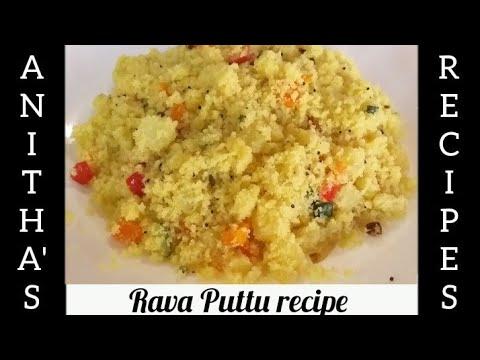 Vegetables Rava Puttu Recipe || Upma recipe || உப்மா