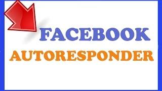 Facebook Notification Autoresponder Software