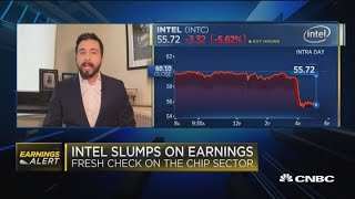 Intel slumps on earnings