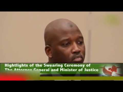 GAMBIA'S NEW JUSTICE MINISTER TAMBADOU SWORN-IN
