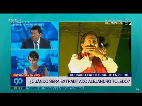 90 Central (13-03-2018) ¿EEUU entregará a Toledo a la justicia peruana?
