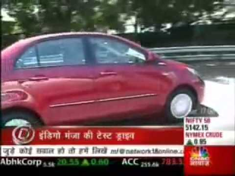 Tata Manza Reviewed by CNBC Awaaz (Overdrive) - Hindi