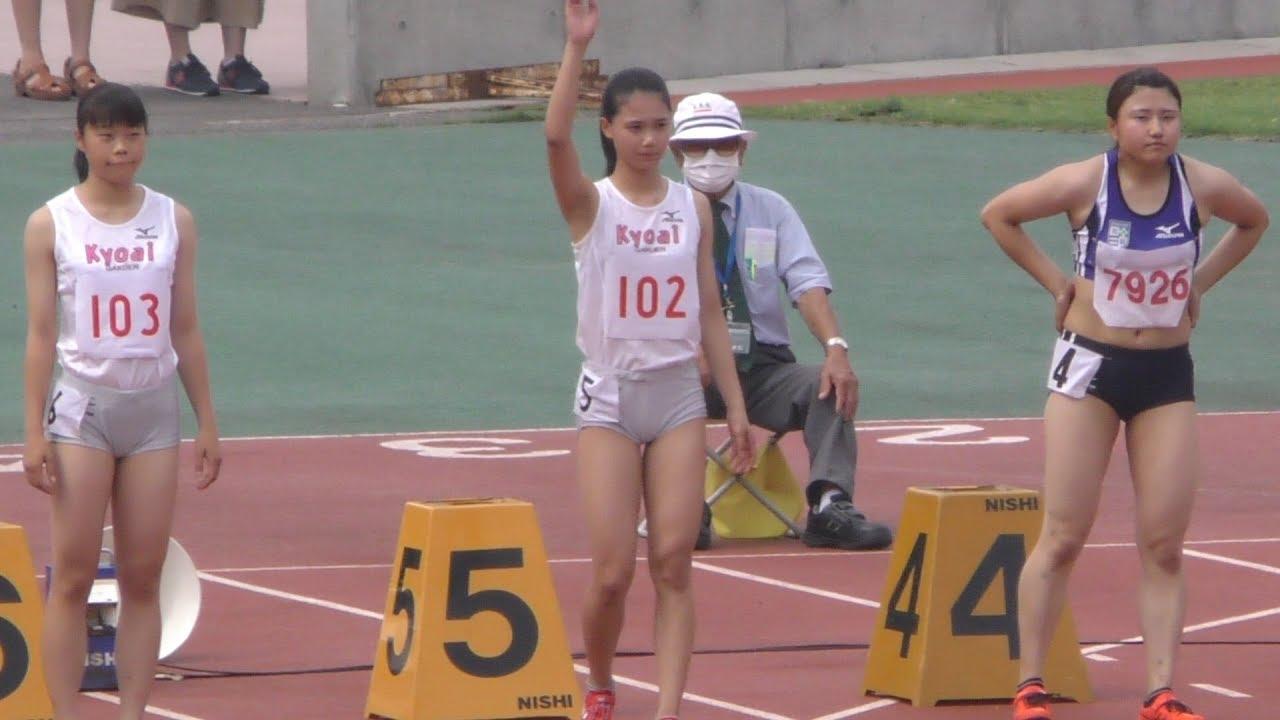 20160702群馬県選手権女子100m決勝