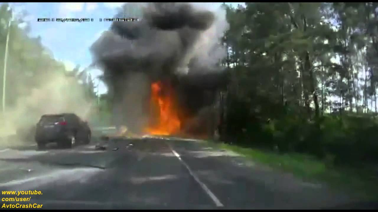 Truck crash compilation june 2015 truck accident 2015 cars on the roads of russia