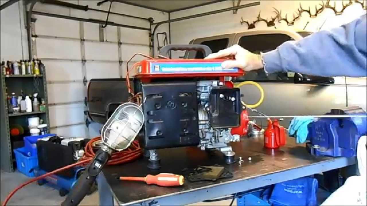 1200 watt generator won t start youtube rh youtube com