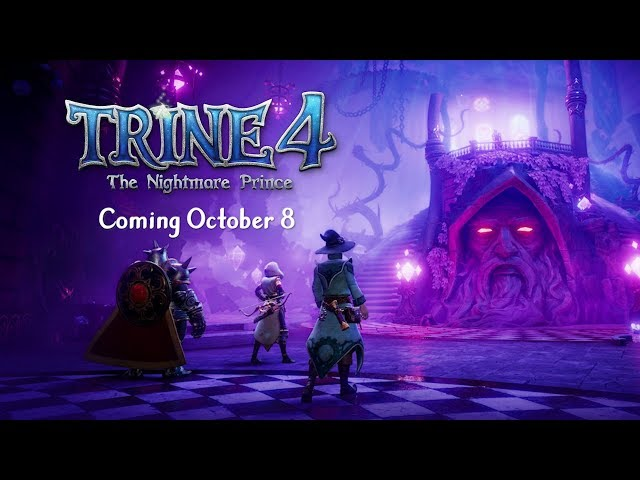 Trine 4 - Release Date Reveal Trailer | Available Oct 8