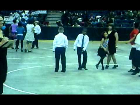 Lowell Elementary School - Milwaukee, WI Tap Dancing (Latin All Stars)