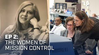 Mission control had one female engineer 50 years ago. Today, she meets a woman in charge.