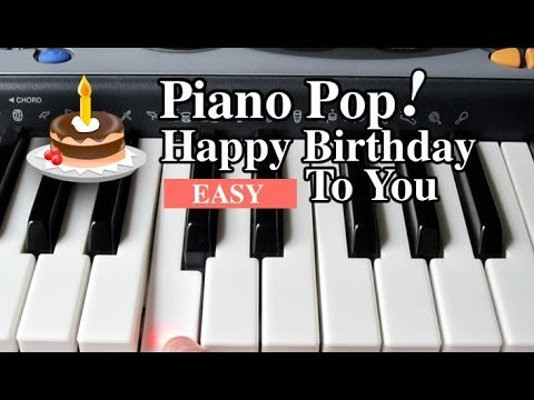 how to play happy birthday to you on piano