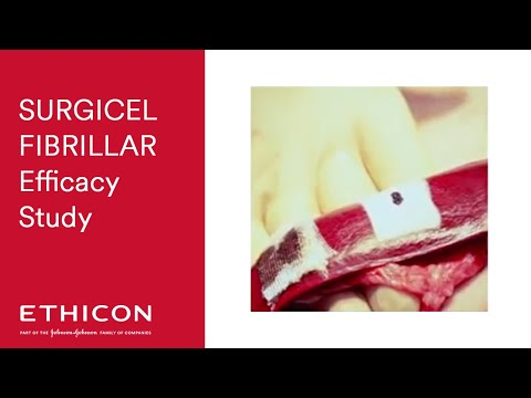 SURGICEL® FIBRILLAR™ vs SURGICEL® Original Hemostatic Efficacy Study