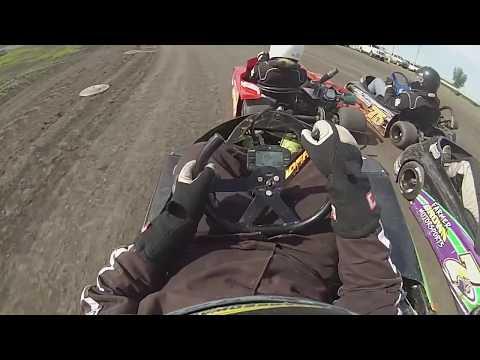 6-3-17 Arlington Raceway Stock Go-Kart Win