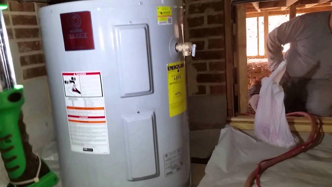Lowboy Water Heater 50 Gallon Low Boy Water Heater Install Making It Fit Youtube