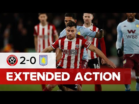 Sheffield United 2-0 Aston Villa - Extended Premier League highlights