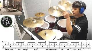 I Don`t Think I Love You - Hoobastank Drums Only #드럼악보 #드럼레슨 #일산드럼