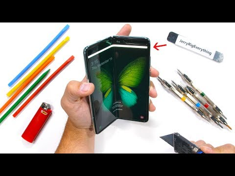 Samsung Galaxy Fold Durability Test! - Is it STILL fragile?!