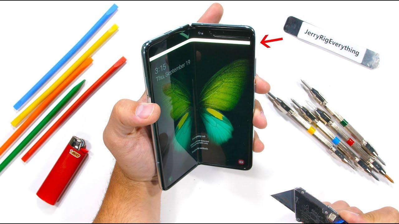 Samsung Galaxy Fold Durability Test! - Is it STILL fragile?!