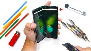 Samsung Galaxy Fold Durability Test    S It ST LL Fragile