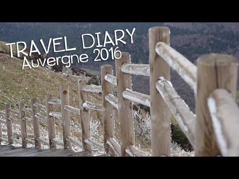 TRAVEL DIARY - Auvergne 2016 - Carnet de voyage