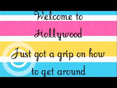 Welcome to Hollywood-Mitchel Musso lyrics