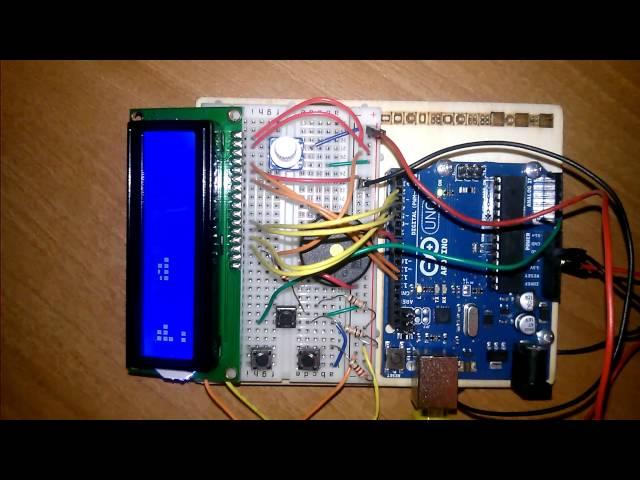 Poseur Blocks - Arduino game