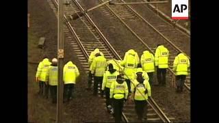 UK: SELBY: TRAIN CRASH LATEST (3)