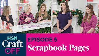 DIY HOLIDAY SCRAPBOOK CHALLENGE   Crafter's Companion   HSN Craft Off