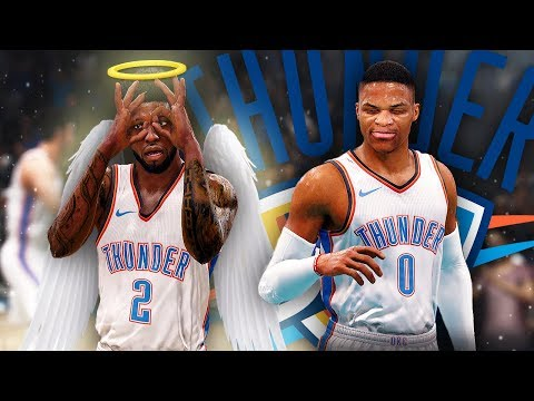 NBA Live 18 The One Career | LeRange and Russell Westbrook Form Super Team During OffSeason!