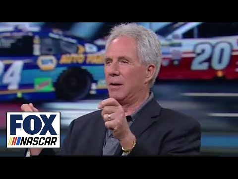 Darrell Waltrip and Jeff Gordon talk racing 600 miles in their respective eras | NASCAR RACE HUB