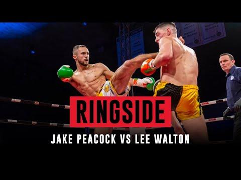 RINGSIDE: Jake Peacock vs Lee Walton - Lion Fight 62 Dublin
