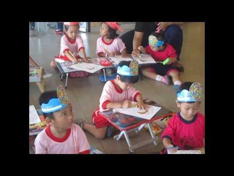 Jalan-jalan & Lomba Menggambar Di McDonald Gatsu Denpasar.