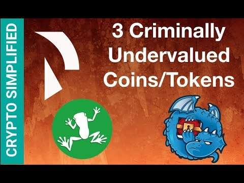 3 Undervalued Coins to HODL - May 2018 - DragonChain DRGN, Wabi, Raiden Network Token RDN