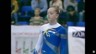 Anastasiia Bachynska (UKR) FX - Ukraine International Cup 2017