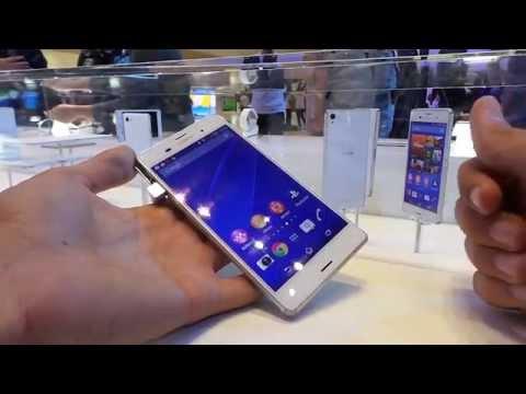 Sony Xperia Z3 bemutató videó