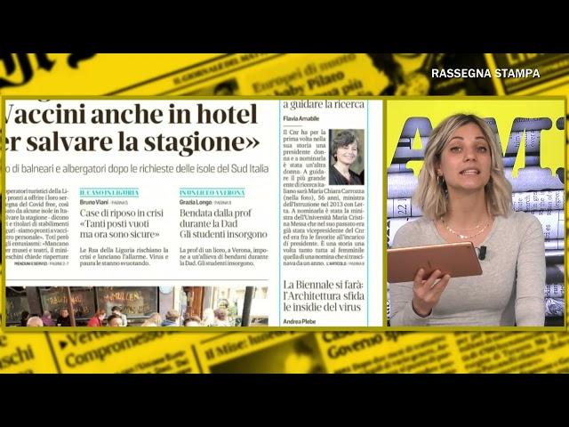 RASSEGNA STAMPA LOCALE di Debora Carletti su Cusano Italia Tv