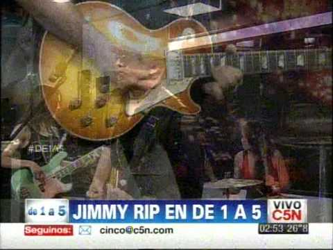 C5N - DE 1 A 5: JIMMY RIP EN VIVO