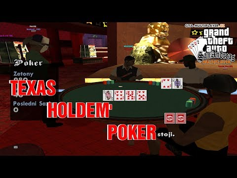 TEXAS HOLDEM POKER V GTA SA-MP!