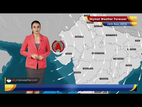 Weather Forecast Nov 24: Rains to reduce over Tamil Nadu; drop in minimums over North-west plains