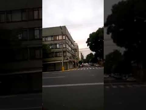 Extraños sonidos de trompetas son captados en la Ciudad de Mexico este 23 de septiembre 2017.
