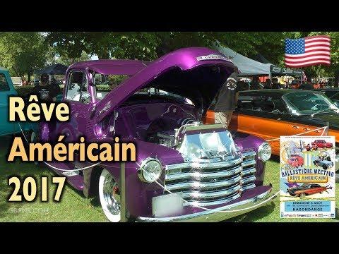 🤠 Meeting Rêve 🇺🇸 Américain 🇺🇸 à Hagondange Ballastière 2017