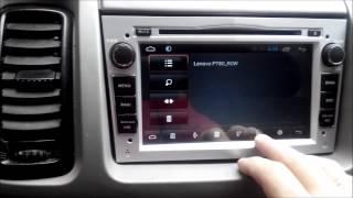 Автомагнитола 2DIN на Андройде для Opel Vivaro, Renault Trafic распаковка и обзор в машине.