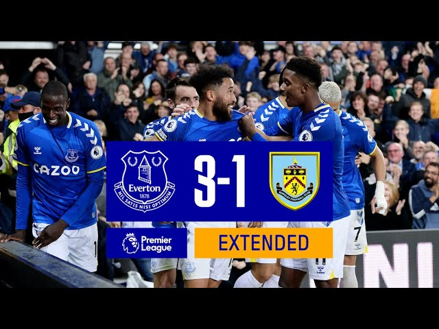 WHAT A TURNAROUND! | EXTENDED HIGHLIGHTS: EVERTON 3-1 BURNLEY