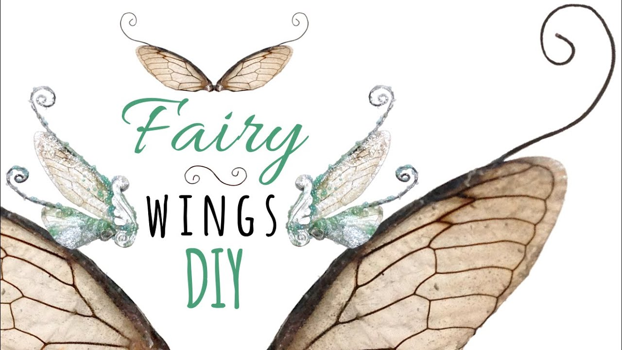 Diy fairy wings for dolls or jewelry realistic insect polymer diy fairy wings for dolls or jewelry realistic insect polymer clay doll wings tutorial youtube solutioingenieria Choice Image