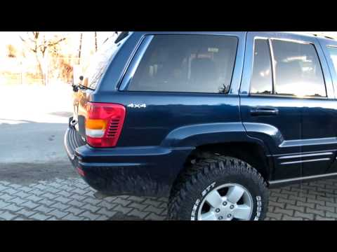 Jeep WJ 4.7 V8 - Soundcheck, Launch with straight pipe